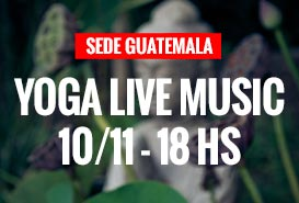 YOGA + LIVE MUSIC 10/11 en Always Gym Guatemala